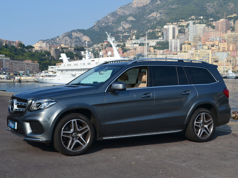 в аренду GLS Мерседес-Бенц  - Monaco Luxury Rent