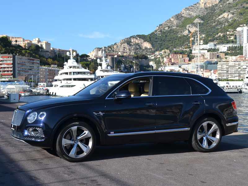 à louer Bentayga Bentley - Monaco Luxury Rent