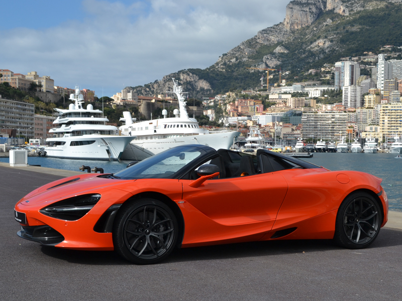 à louer 720S Spider McLaren - Monaco Luxury Rent