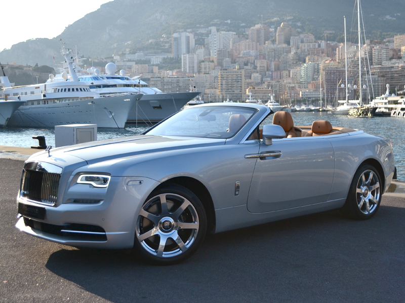 à louer Dawn Rolls-Royce - Monaco Luxury Rent