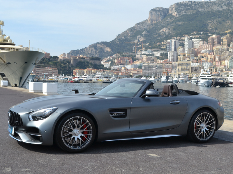 à louer AMG GT Roadster Mercedes-Benz - Monaco Luxury Rent