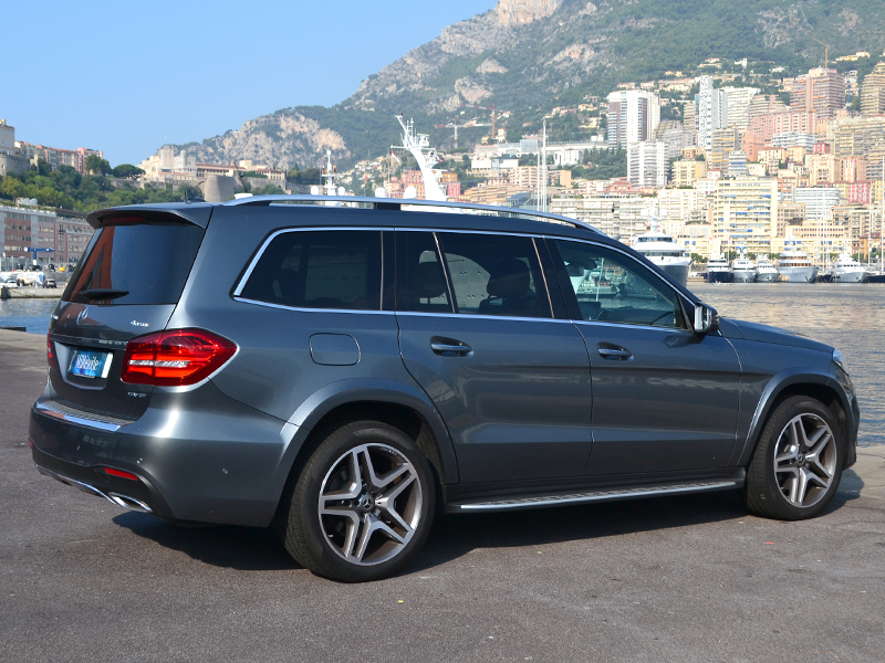 location véhicule GLS 7 places Mercedes-Benz - Monaco Luxury Rent