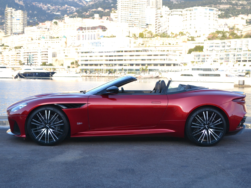 location auto DBS Superleggera Volante Aston Martin - Monaco Luxury Rent