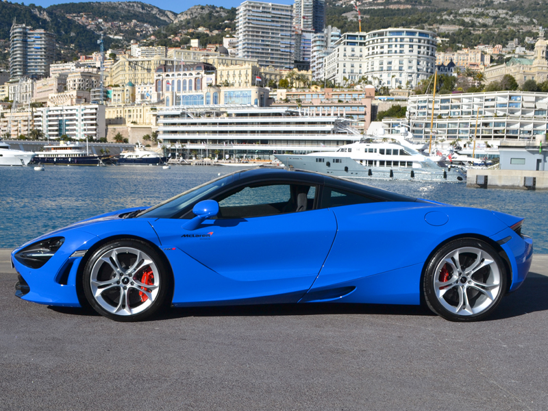 location auto 720S Coupé McLaren - Monaco Luxury Rent