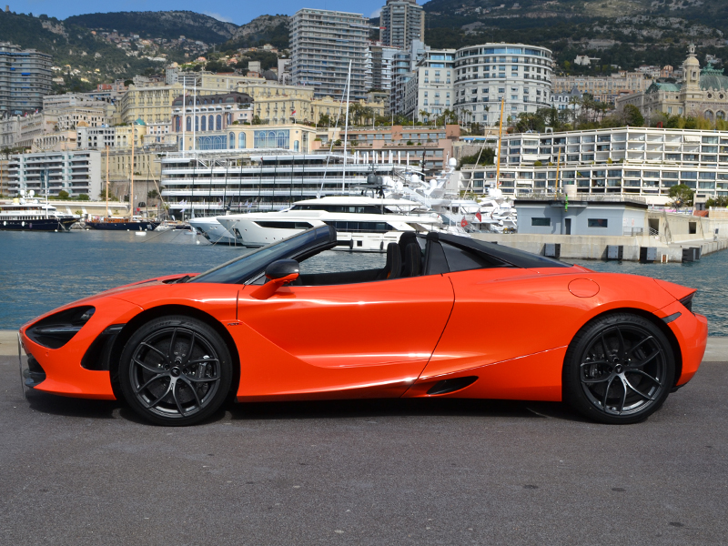 location auto 720S Spider McLaren - Monaco Luxury Rent