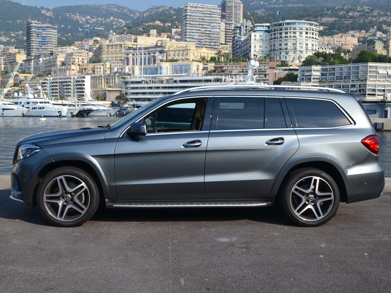 location auto GLS 7 places Mercedes-Benz - Monaco Luxury Rent