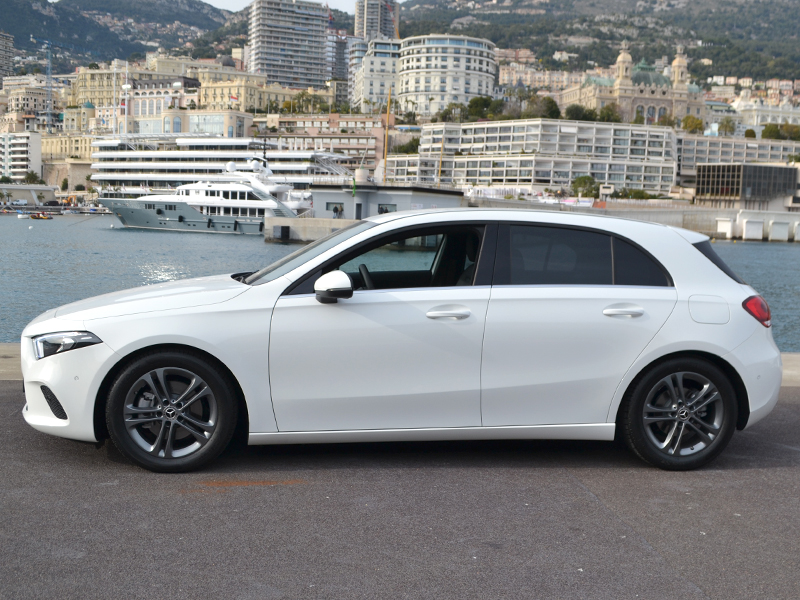 car rental Classe A Mercedes-Benz - Monaco Luxury Rent
