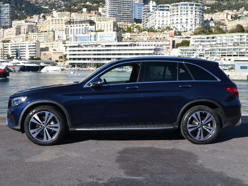 car rental GLC Mercedes-Benz - Monaco Luxury Rent