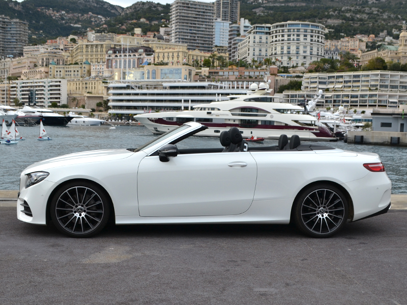 car rental Classe E Cab. Mercedes-Benz chez Monaco Luxury Rent