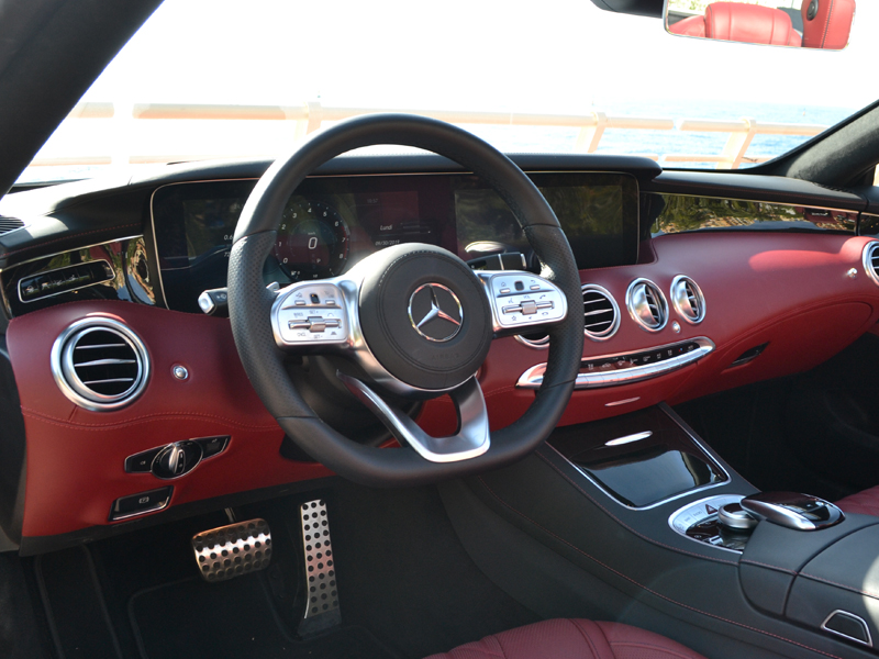 to rent Classe S Cab. Mercedes-Benz chez Monaco Luxury Rent