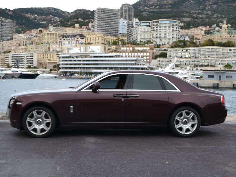 car rental Ghost Rolls-Royce - Monaco Luxury Rent