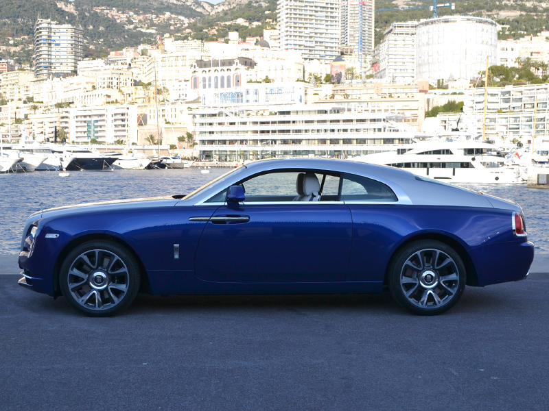car rental Wraith Rolls-Royce - Monaco Luxury Rent