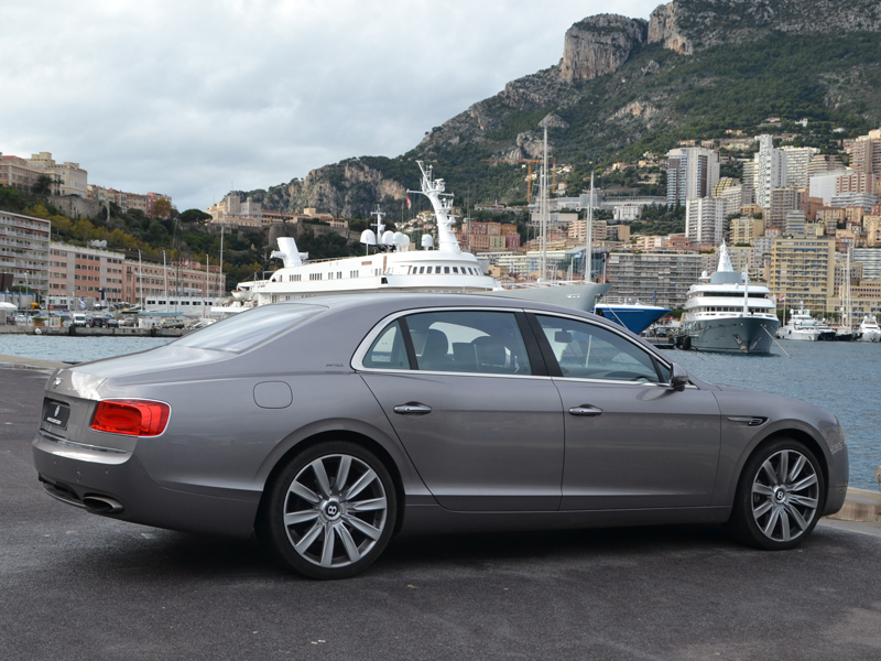vehicle rental Flying Spur Bentley - Monaco Luxury Rent