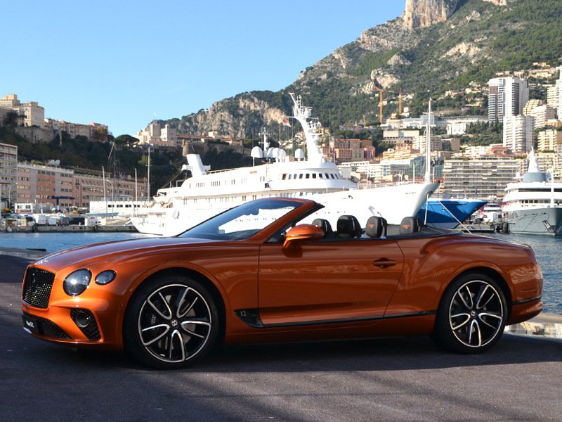 for rent GTC Bentley chez Monaco Luxury Rent