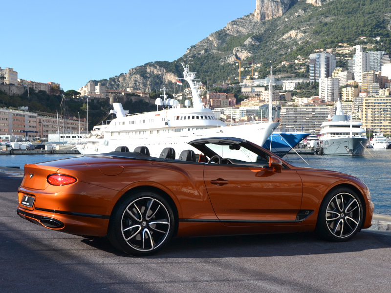 vehicle rental GTC Bentley - Monaco Luxury Rent