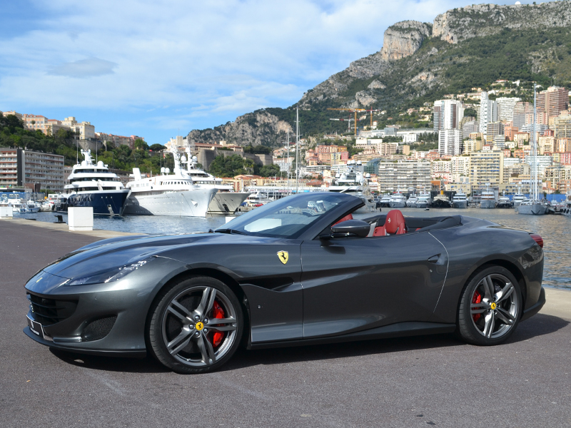 for rent Portofino Ferrari chez Monaco Luxury Rent