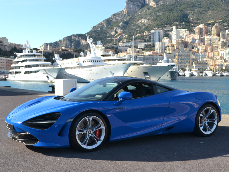 for rent 720S coupe McLaren - Monaco Luxury Rent
