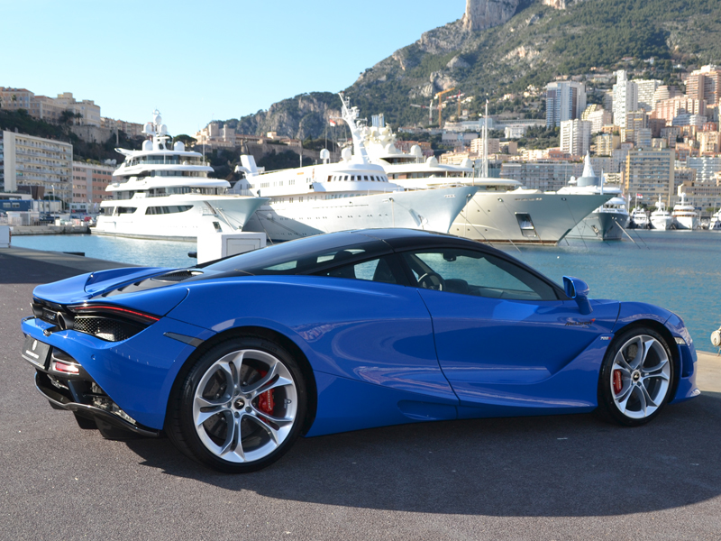 vehicle rental 720S coupe McLaren - Monaco Luxury Rent