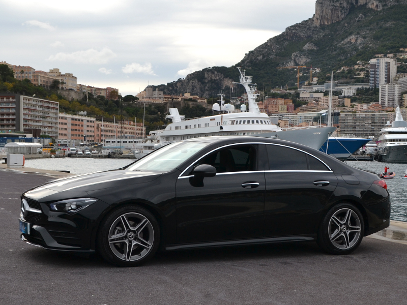 for rent CLA Mercedes-Benz chez Monaco Luxury Rent