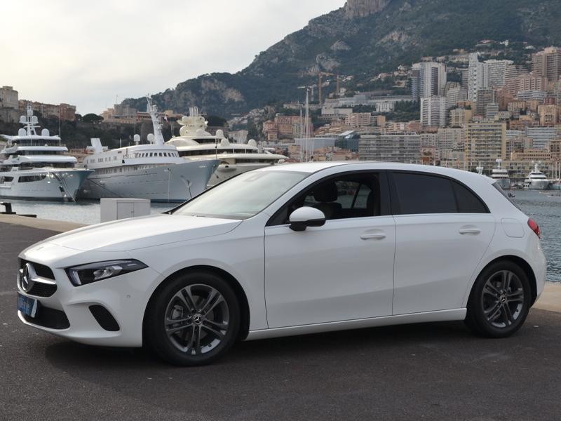 for rent Classe A Mercedes-Benz chez Monaco Luxury Rent