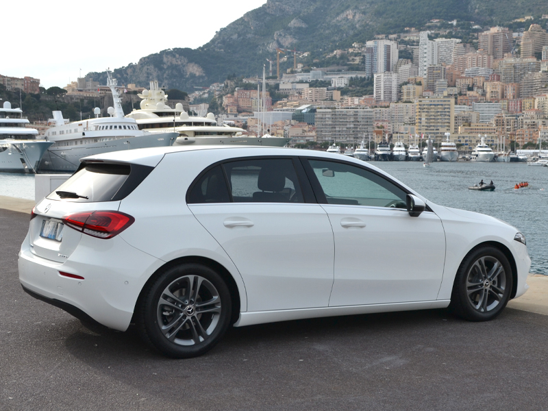 vehicle rental Classe A Mercedes-Benz - Monaco Luxury Rent