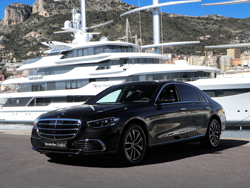 for rent Classe S 350 Mercedes-Benz chez Monaco Luxury Rent