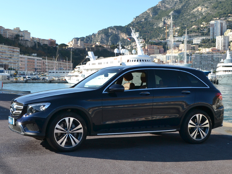 for rent GLC Mercedes-Benz chez Monaco Luxury Rent