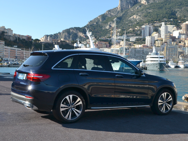 vehicle rental GLC Mercedes-Benz - Monaco Luxury Rent
