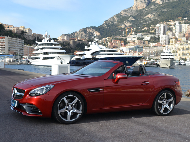 for rent SLC Mercedes-Benz - Monaco Luxury Rent