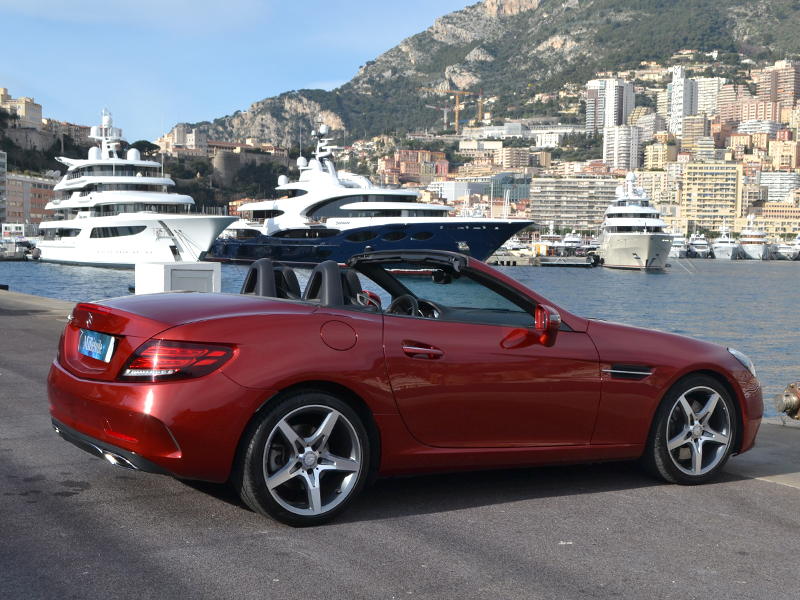 vehicle rental SLC Mercedes-Benz - Monaco Luxury Rent