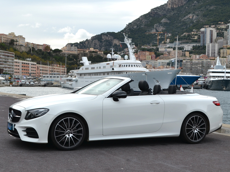 for rent Classe E Cab. Mercedes-Benz chez Monaco Luxury Rent