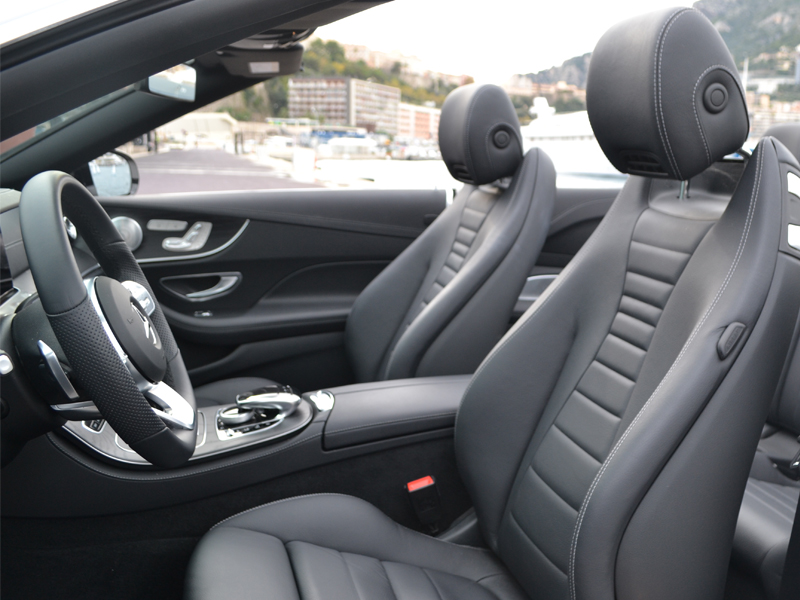 car rental monaco Classe E Cab. Mercedes-Benz chez Monaco Luxury Rent