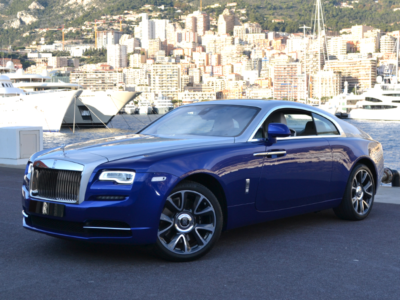 for rent Wraith Rolls-Royce - Monaco Luxury Rent