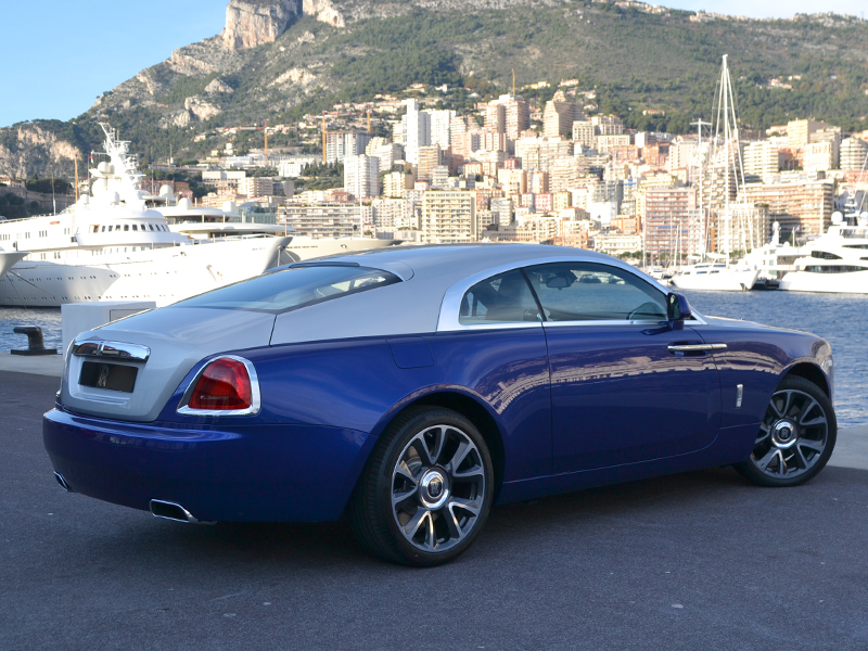 vehicle rental Wraith Rolls-Royce - Monaco Luxury Rent