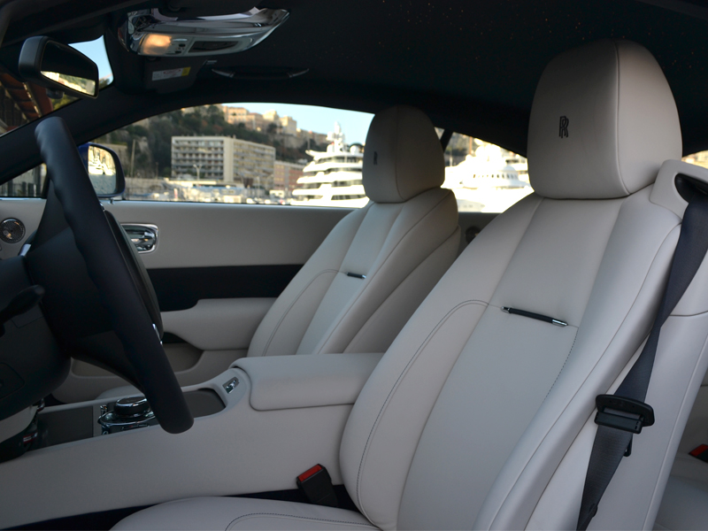 car rental monaco Wraith Rolls-Royce - Monaco Luxury Rent